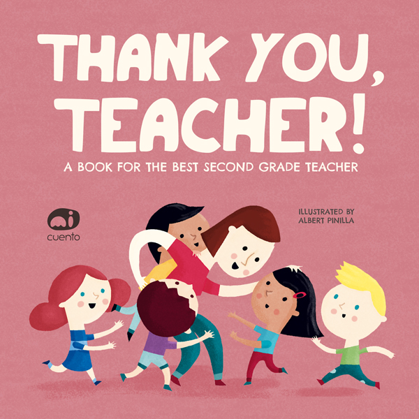 Thank you, teacher! | Personalized Books | MiCuento®